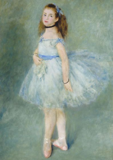 Renoir, Pierre Auguste:The Dancer. Fine Art Print/Poster. Sizes: A4/A3/A2/A1 (004279)